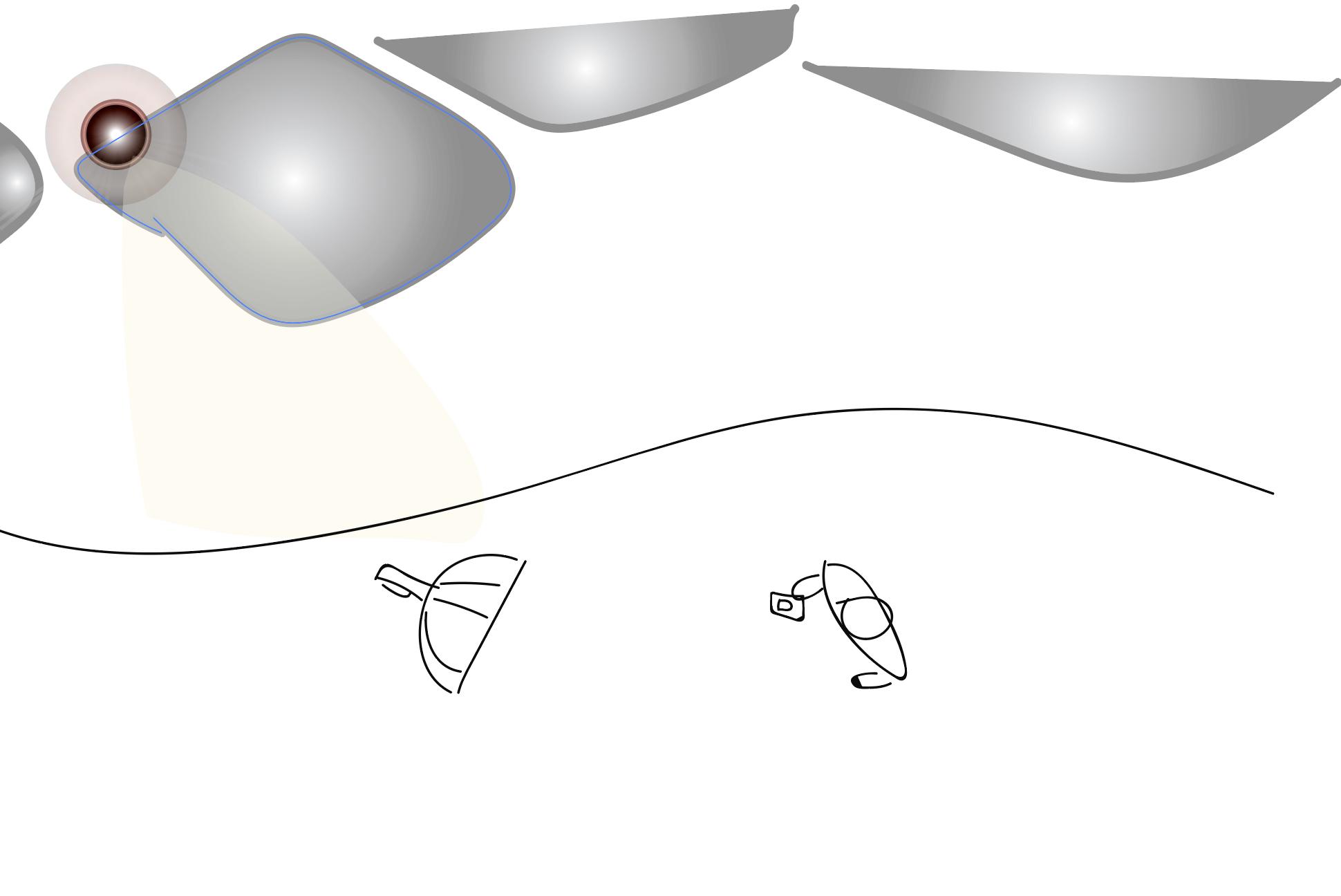 """Lighting Diagram 4"""" Octa 2 Baffles B1x"""