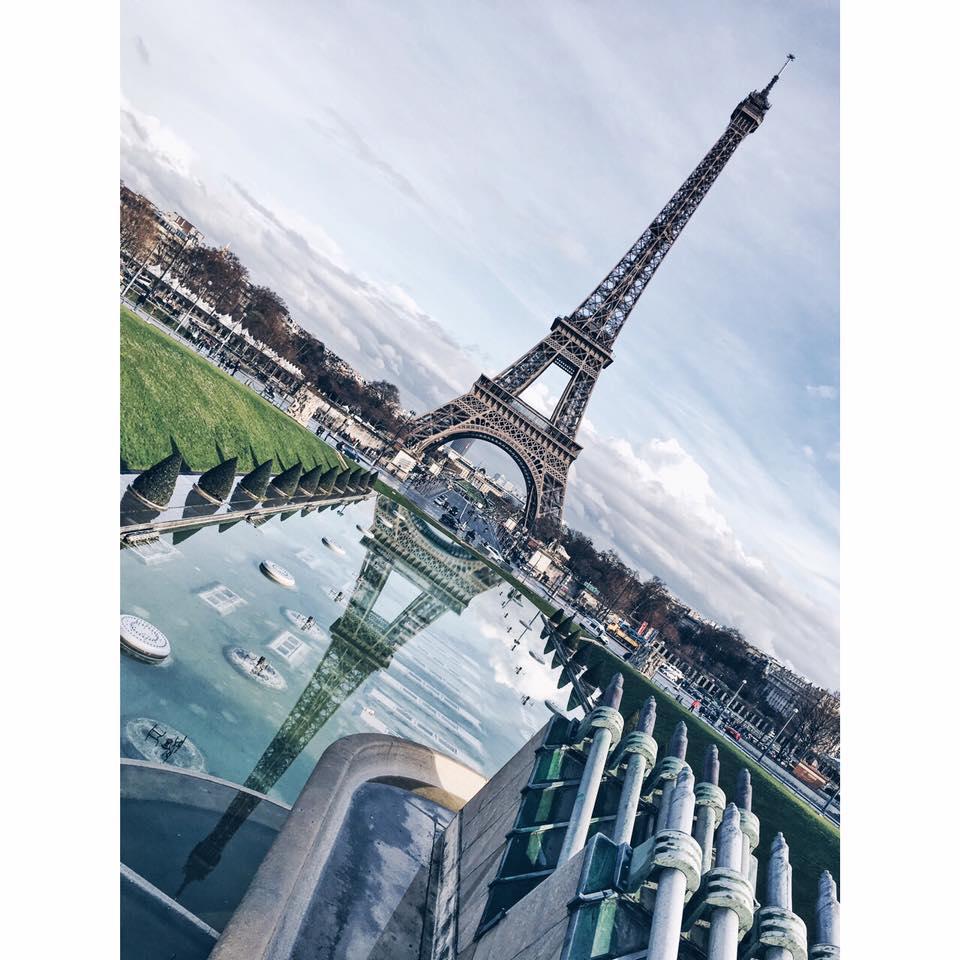 Eiffel Tower by Ashley Whitlatch