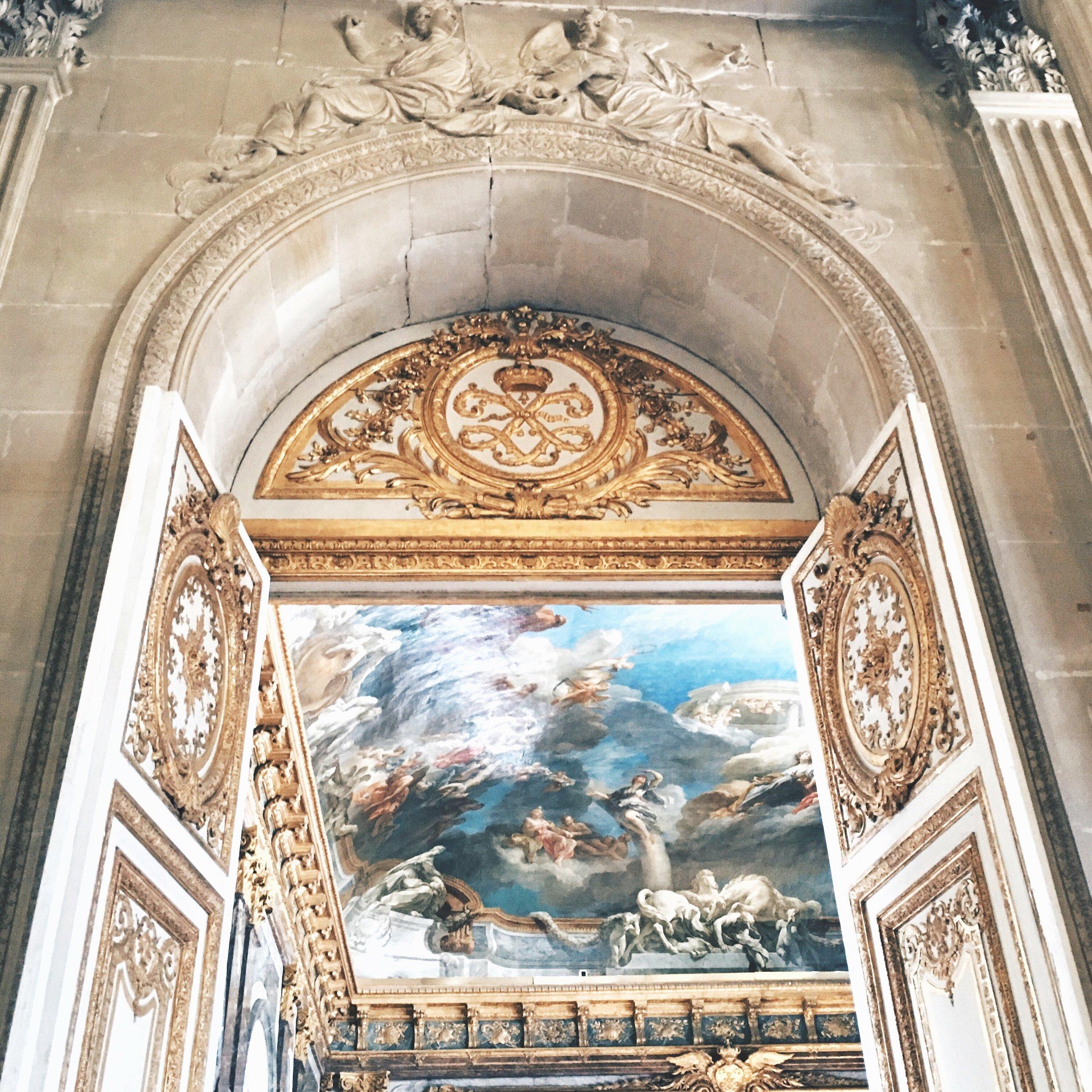 Versailles interior by Ashley Whitlatch