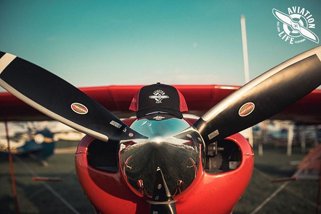 Pitts and our Red trucker a perfect flight combo 😎 . . .  What's everyone favorite thing to take on there flight ?! . . . . . . . . . . . . #aviationlife #aviation #avporn #aviationphotography #aviationgeek #instaaviation #instagramaviation #aviationlovers #clothingbrand #clothing #pilot #plane #airport #airplane #aviationlifeclothing #aviationlifefamily #aviator #luxurylifestyle #luxurybrand #fashion