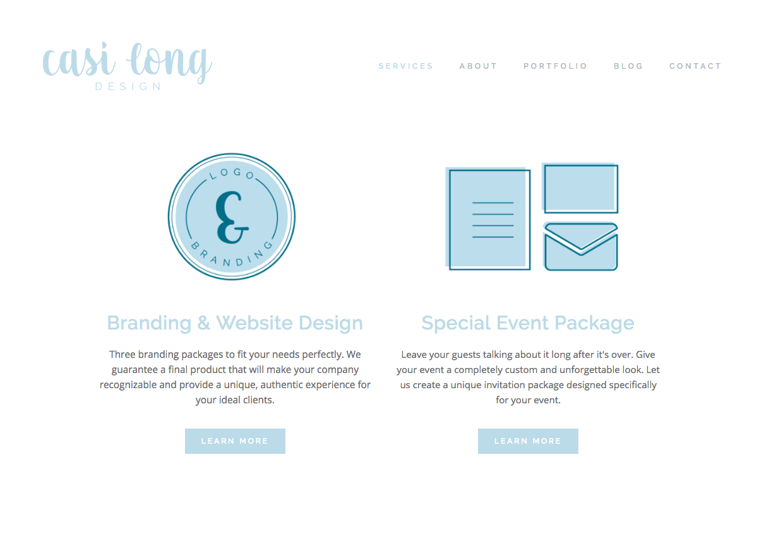 Landing page on casilong.com | Six simple ways to improve your website
