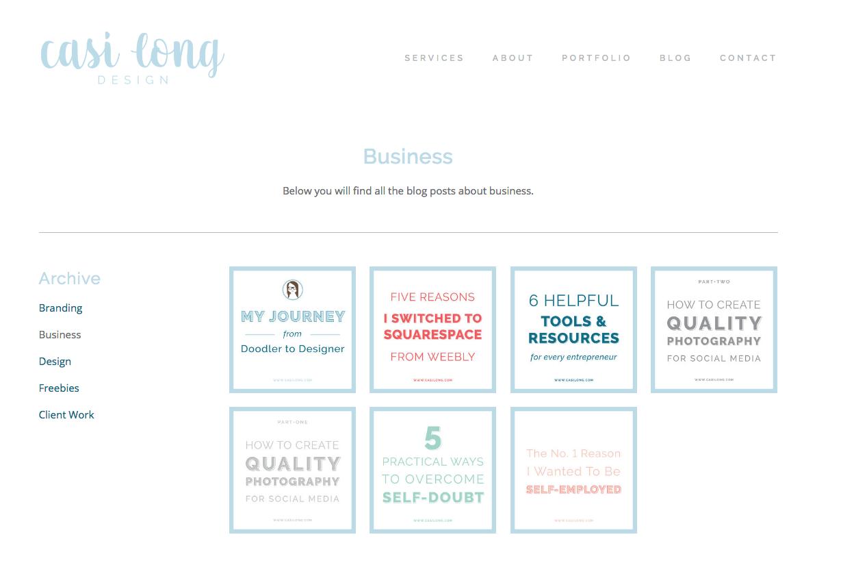 Landing page on casilong.com | six simple ways to improve your website | casilong.com/blog | #casilongdesign #fearlesspursuit