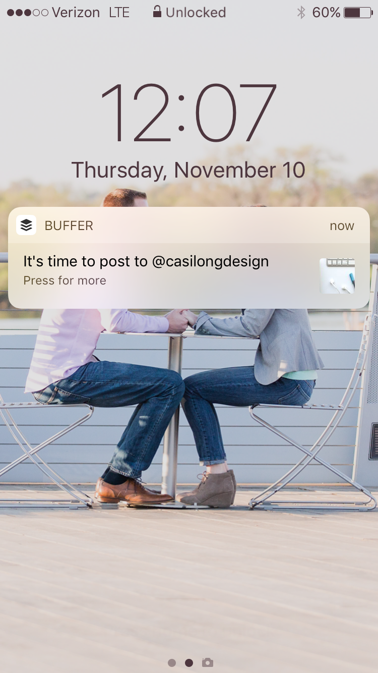 Instagram Buffer App | casilong.com/blog