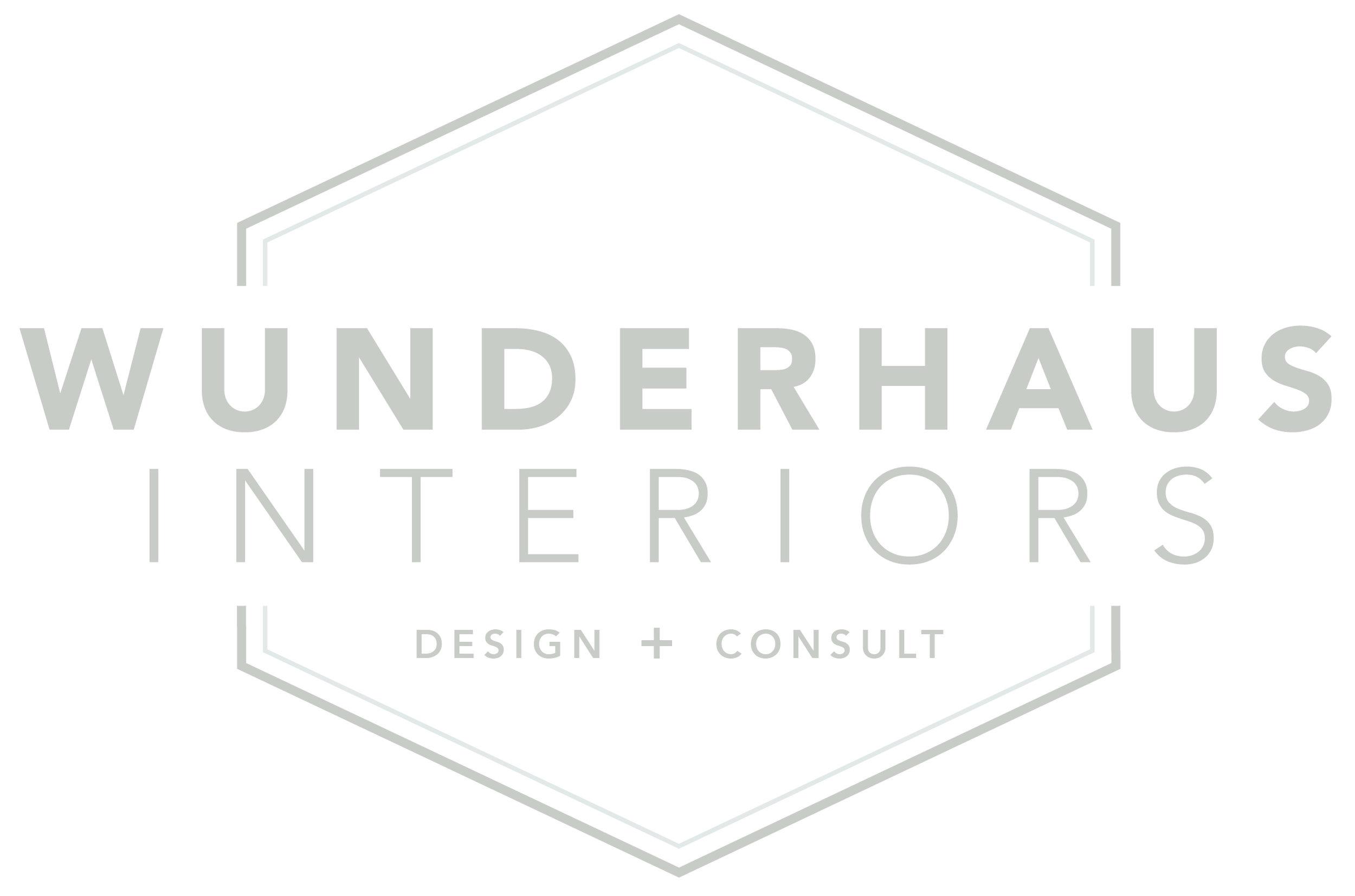 Wunderhaus Interiors branding design   casilong.com #casilongdesign #fearlesspursuit