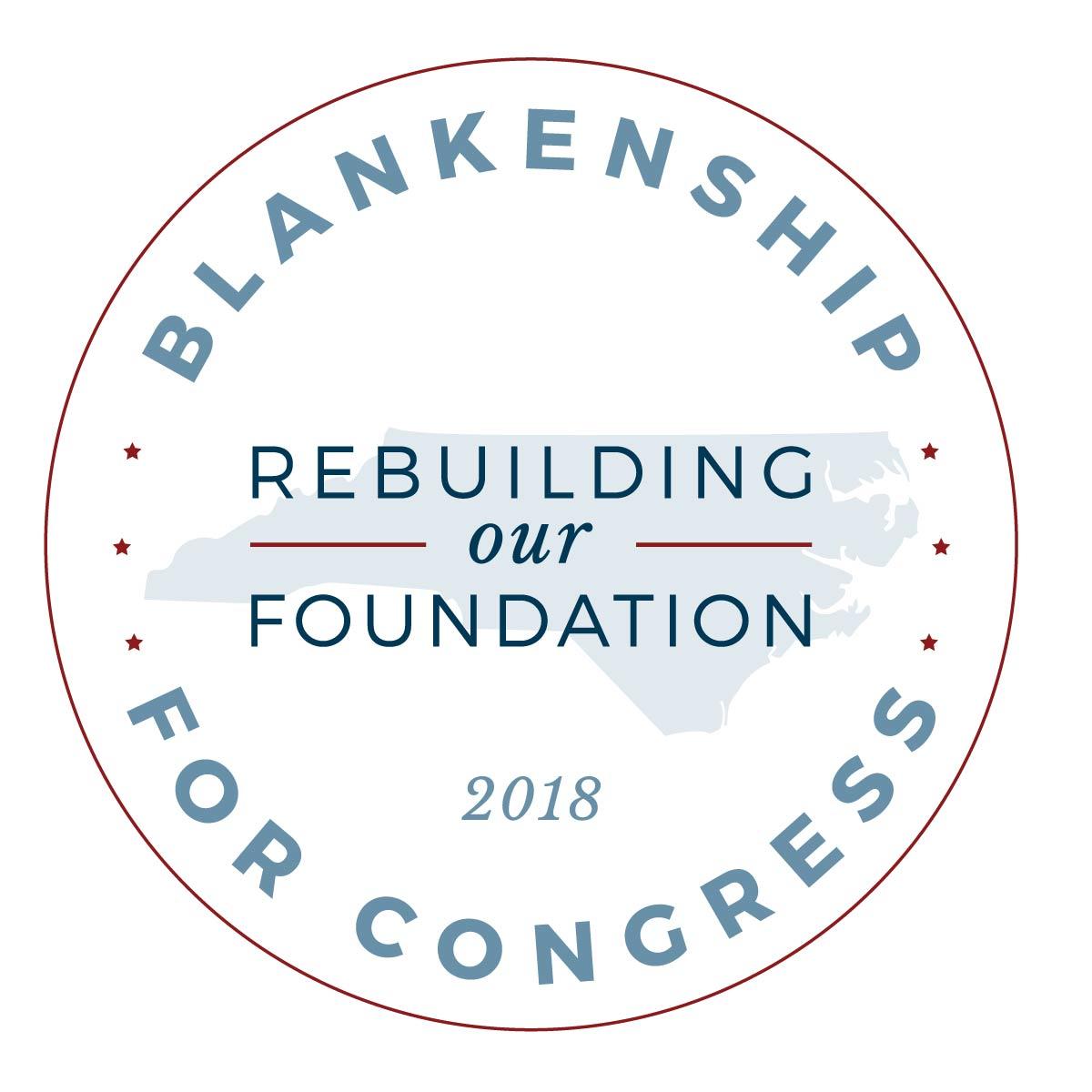Blankenship for Congress | Logo Design | www.blankenshipforcongress.com