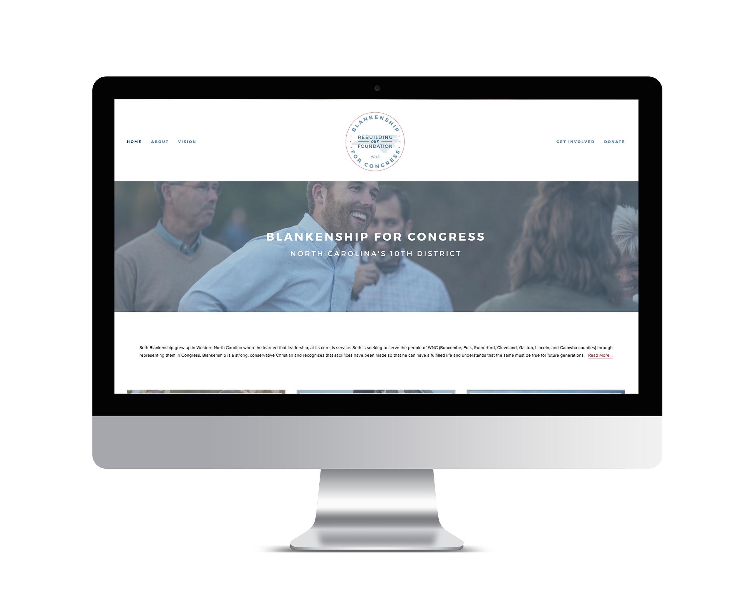 Website | Blankenship for Congress | www.blankenshipforcongress.com
