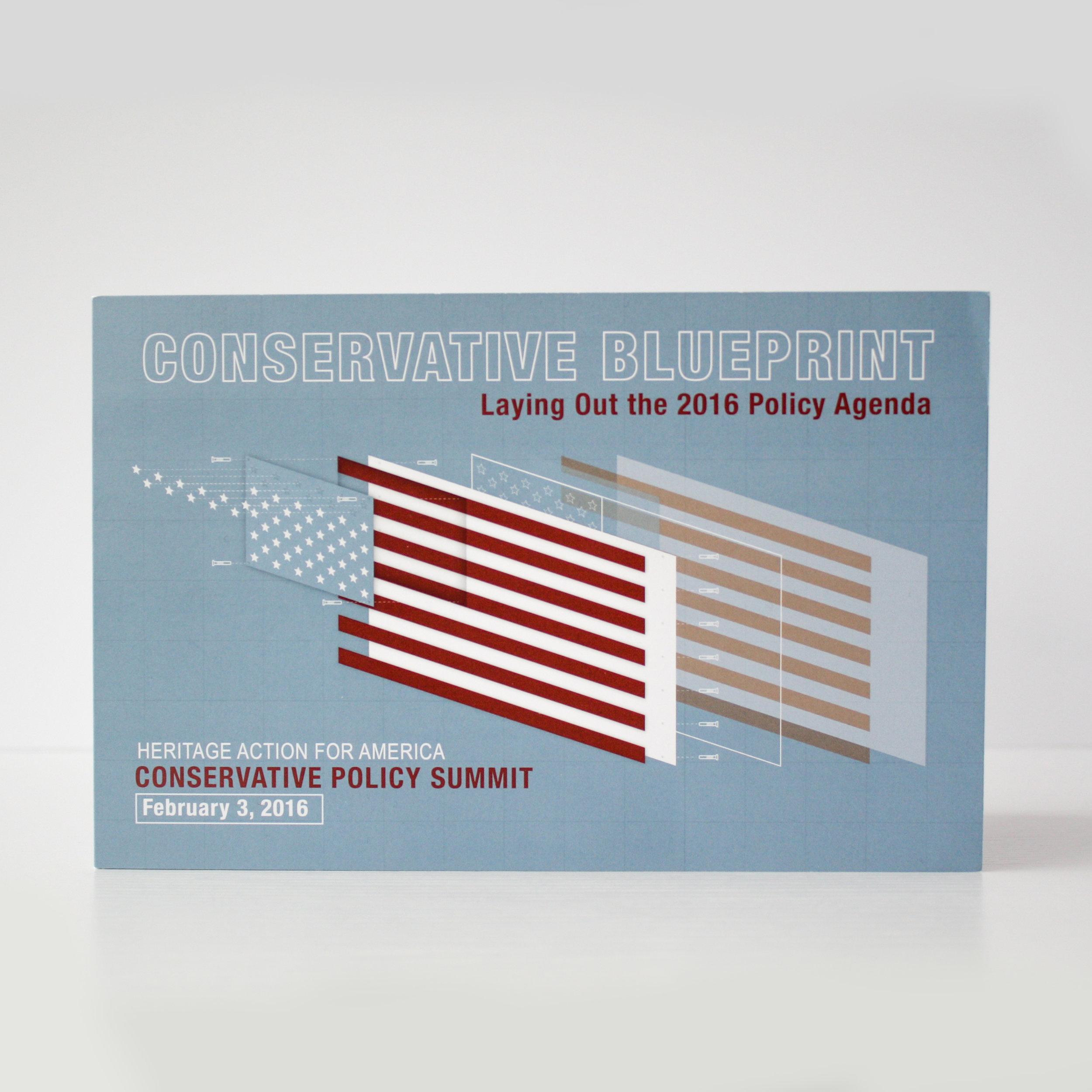Conservative Policy Summit Corporate Event Invitation | Casi Long Design | casilong.com:portfolio | #casilongdesign #fearlesspursuit Thumbnail.jpg