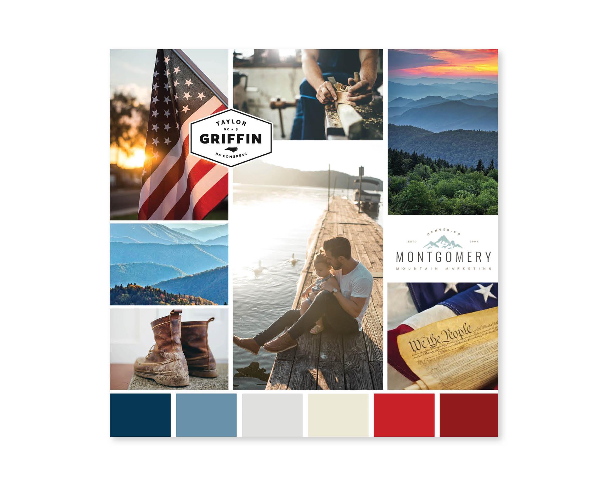 Blankenship for Congress | Inspiration Board by Casi Long Design | casilong.com