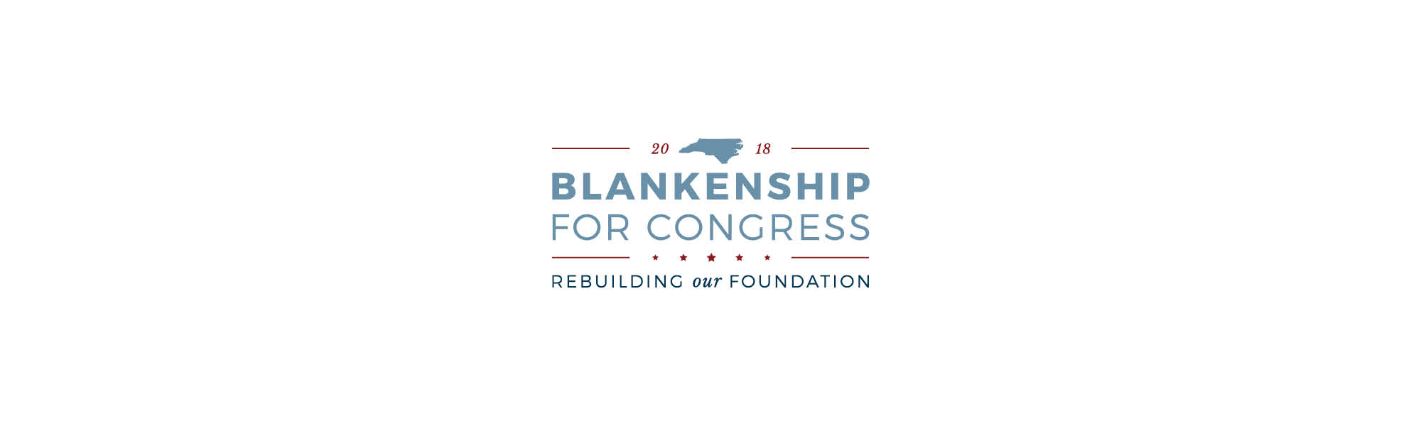 Blankenship for Congress | Logo by Casi Long Design | casilong.com