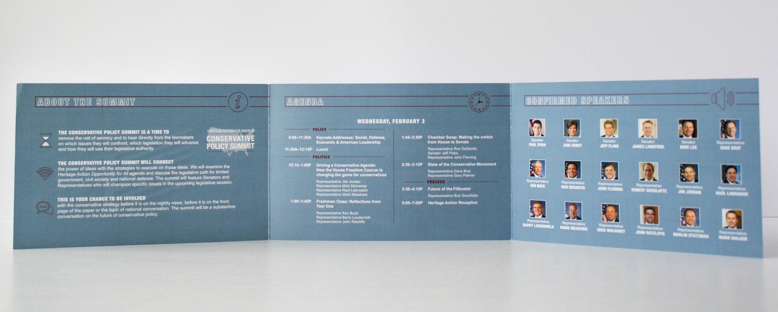 Conservative Policy Summit Corporate Event Invitation | Casi Long Design | casilong.com:portfolio | #casilongdesign #fearlesspursuit 4.jpg