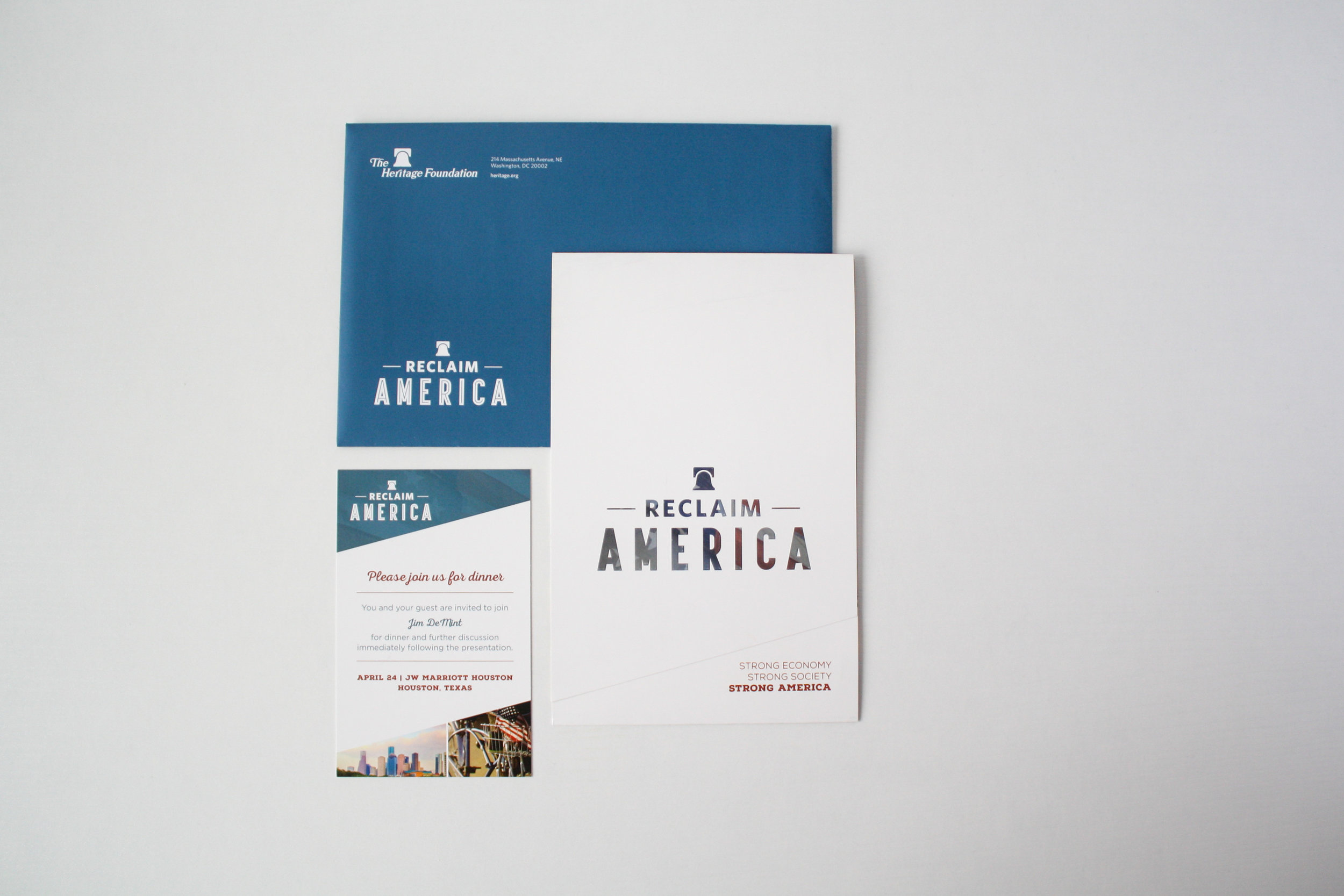 Reclaim America Campaign | Corporate Event Invitation | Casi Long Design | casilong.com:portfolio | #casilongdesign #fearlesspursuit 1.jpg
