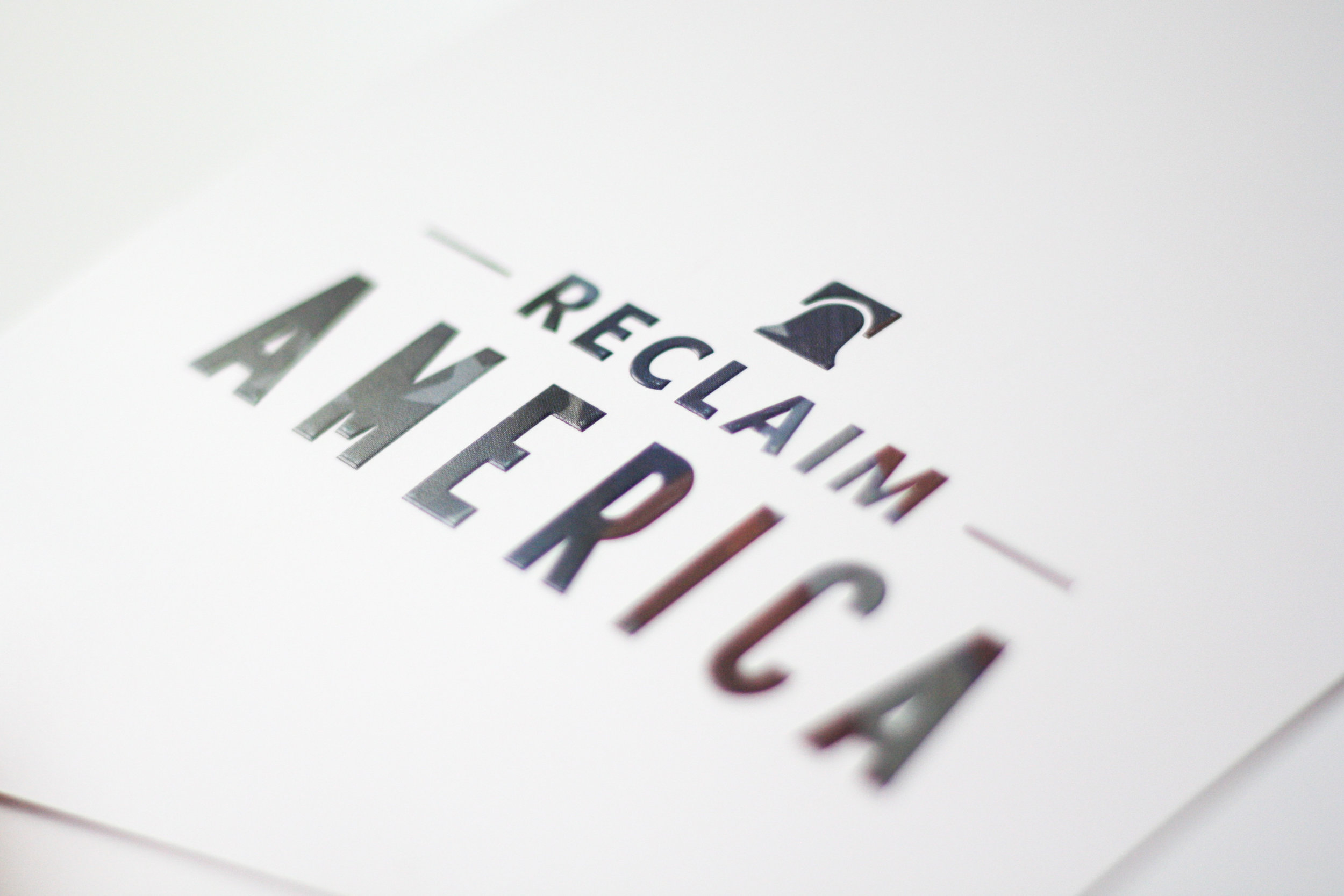 Reclaim America Campaign | Corporate Event Invitation | Casi Long Design | casilong.com:portfolio | #casilongdesign #fearlesspursuit 4.jpg