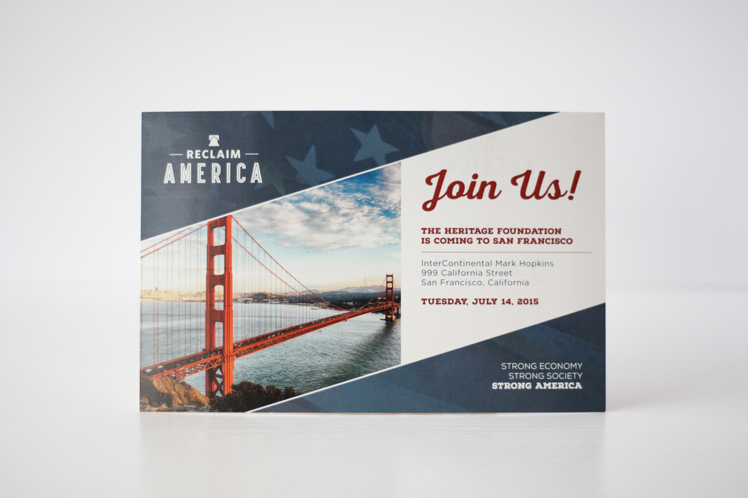 Reclaim America Campaign | Corporate Event Invitation | Casi Long Design | casilong.com:portfolio | #casilongdesign #fearlesspursuit 10.jpg
