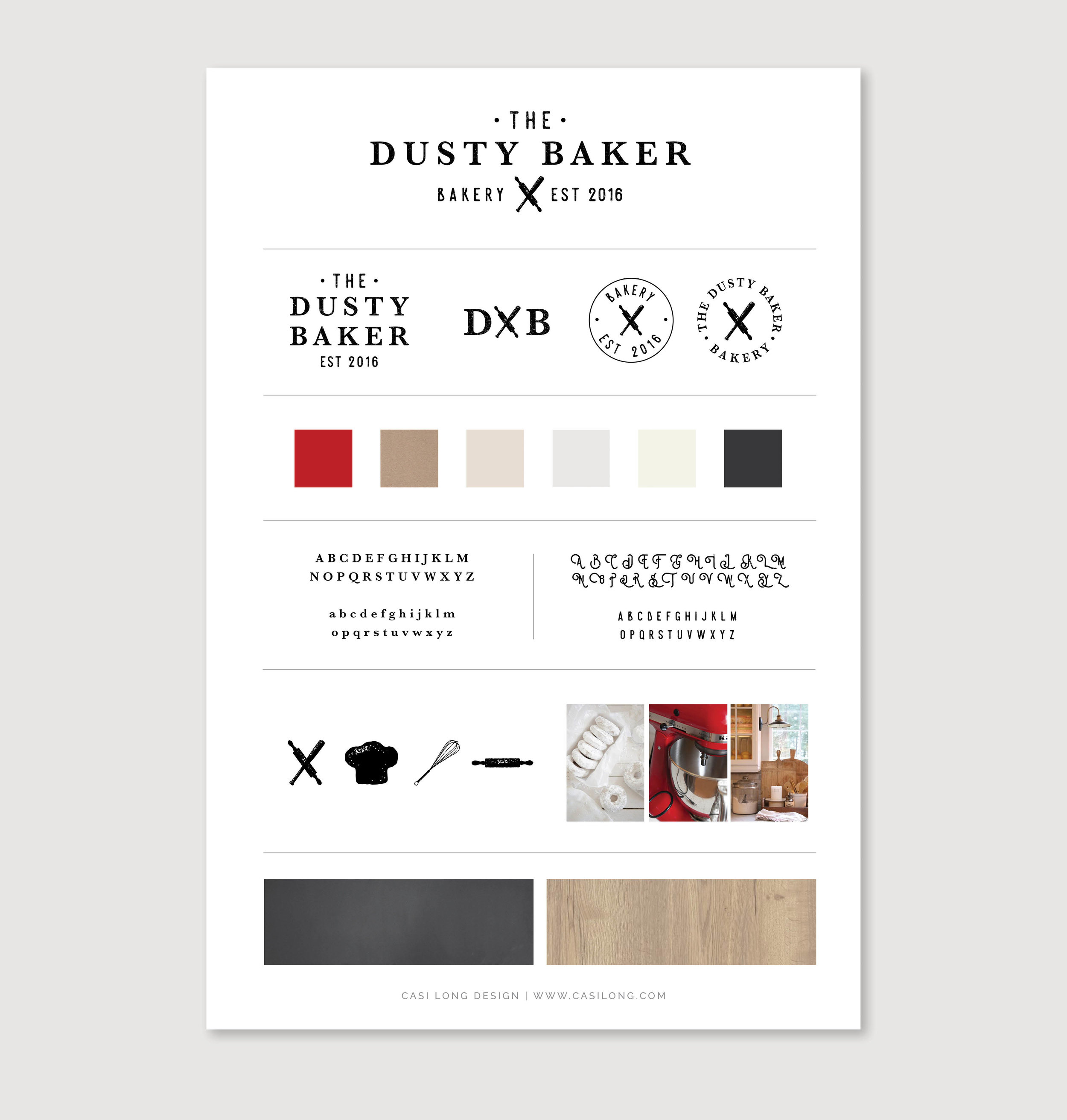 The Dusty Baker Branding | By Casi Long Design | casilong.com .jpg