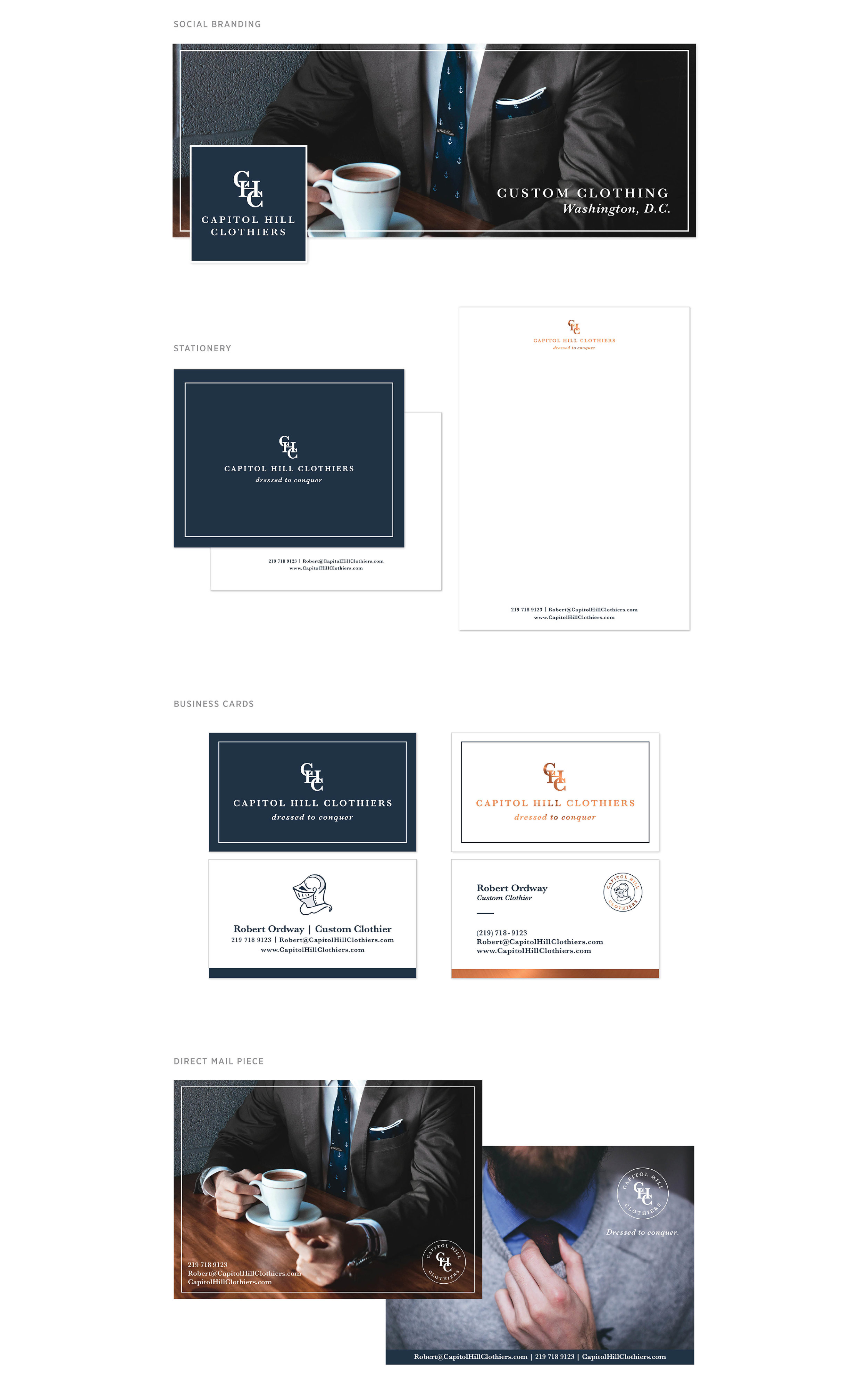 Capitol Hill Clothiers Branding by Casi Long Design | casilong.com 4.jpg