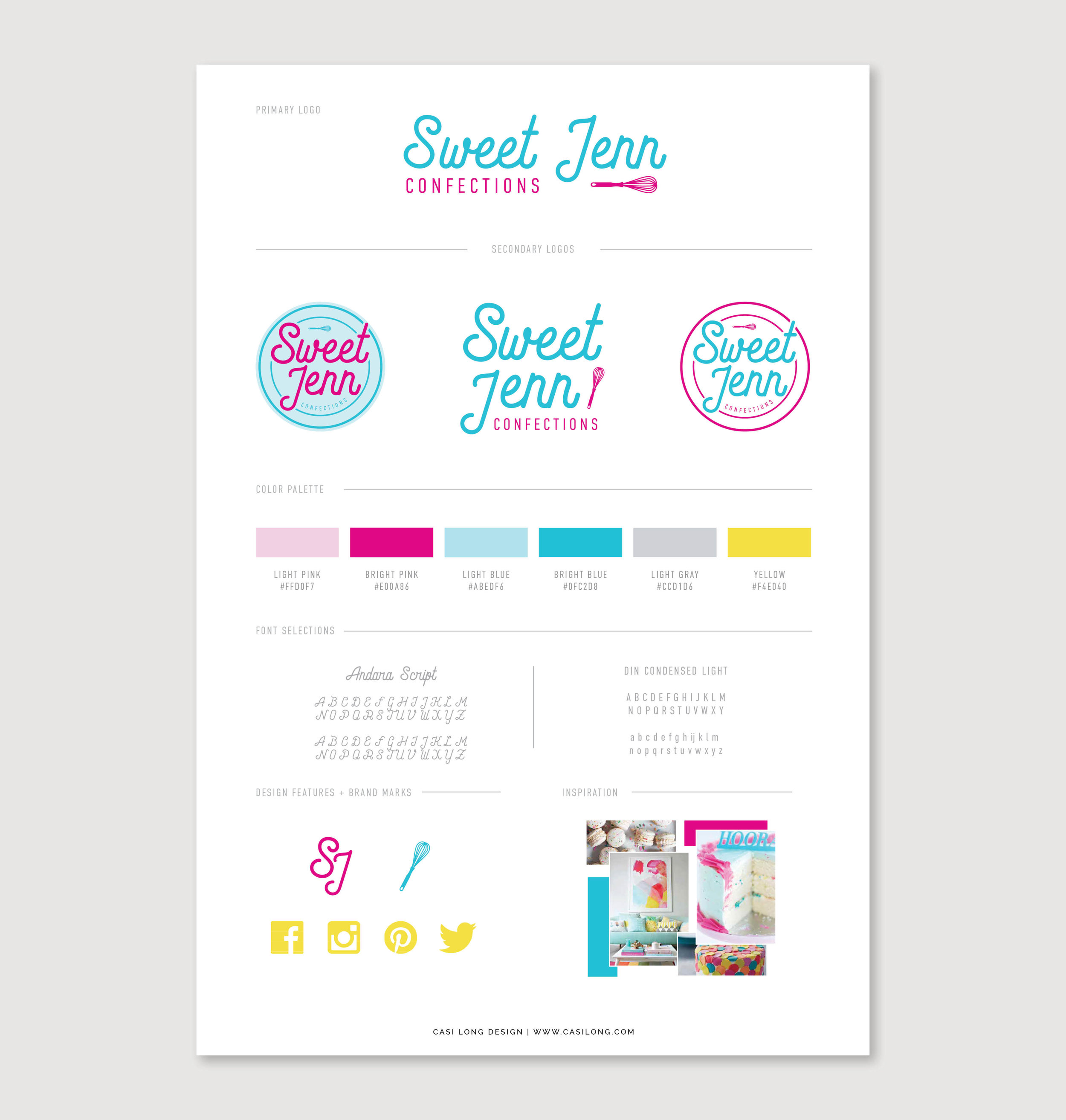 Sweet Jenn Confections branding by Casi Long Design | casilong.com .jpg