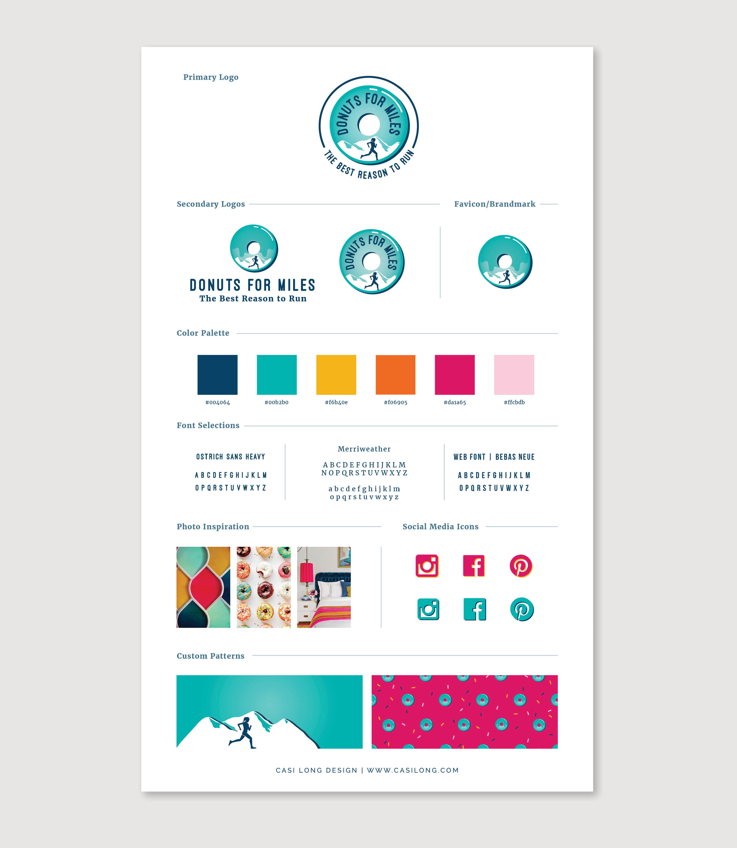 Donuts for Miles branding by Casi Long Design | casilong.com .jpg