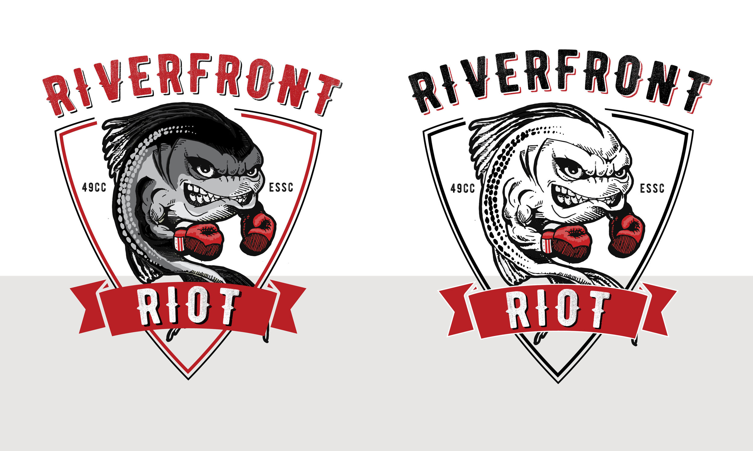 Riverfront Ruckus Riot Logo Design by Casi Long Design | casilong.com .jpg