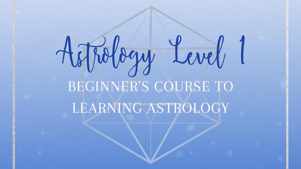 <font size=4.5>Astrology Level 1 $200</font>