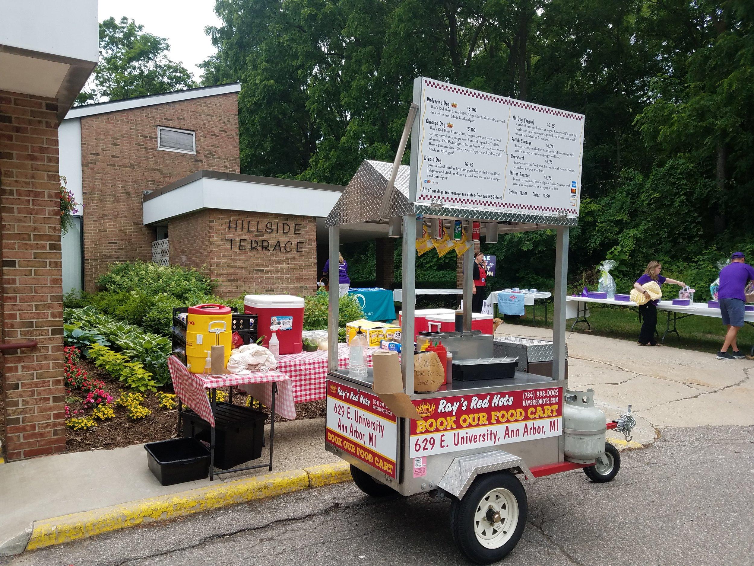 2018 Alzheimer's benefit at Hillside Terrace Retirement Community in Ann Arbor.