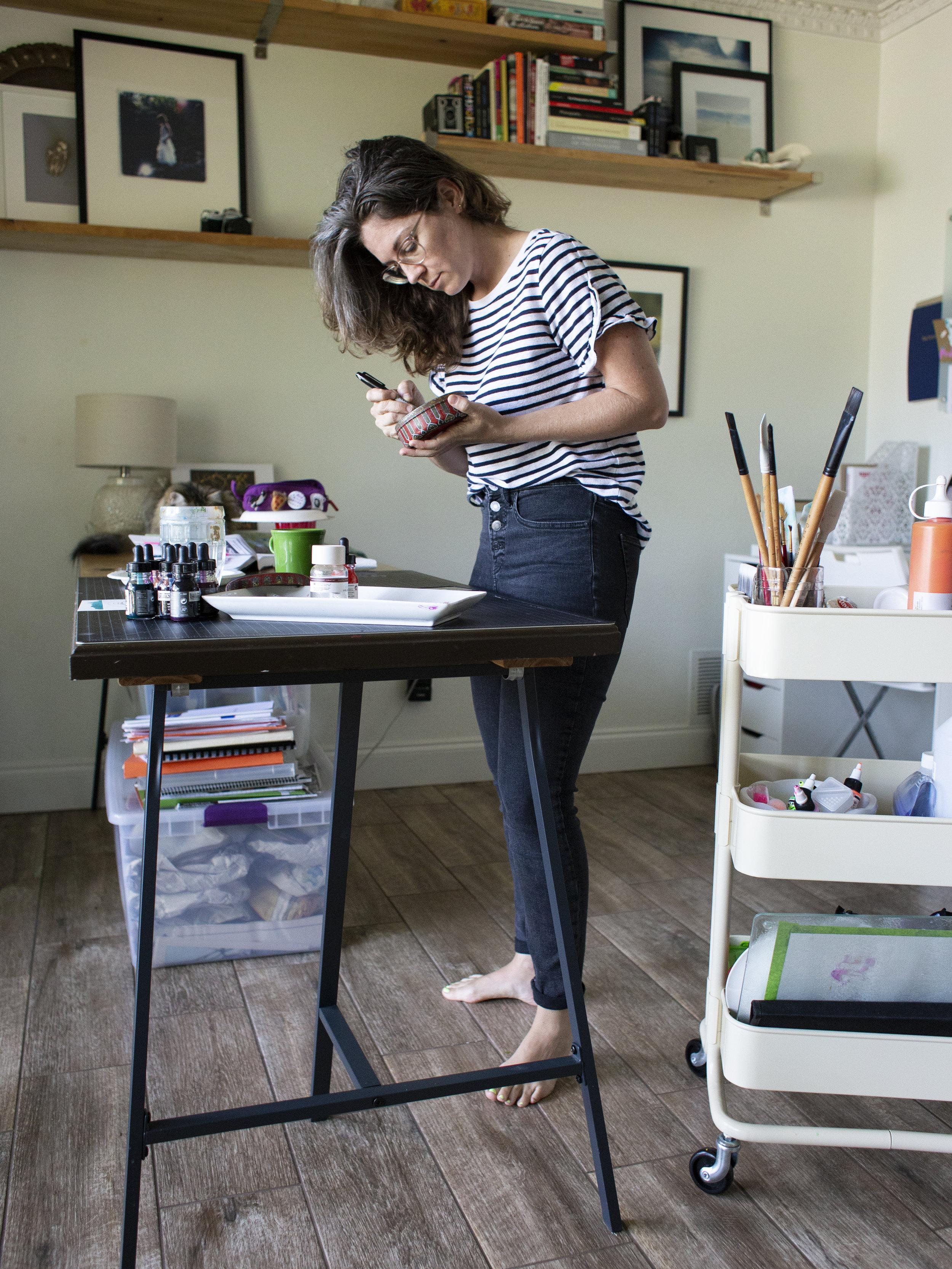 Visiting Artist in Residence via hollydgray.com
