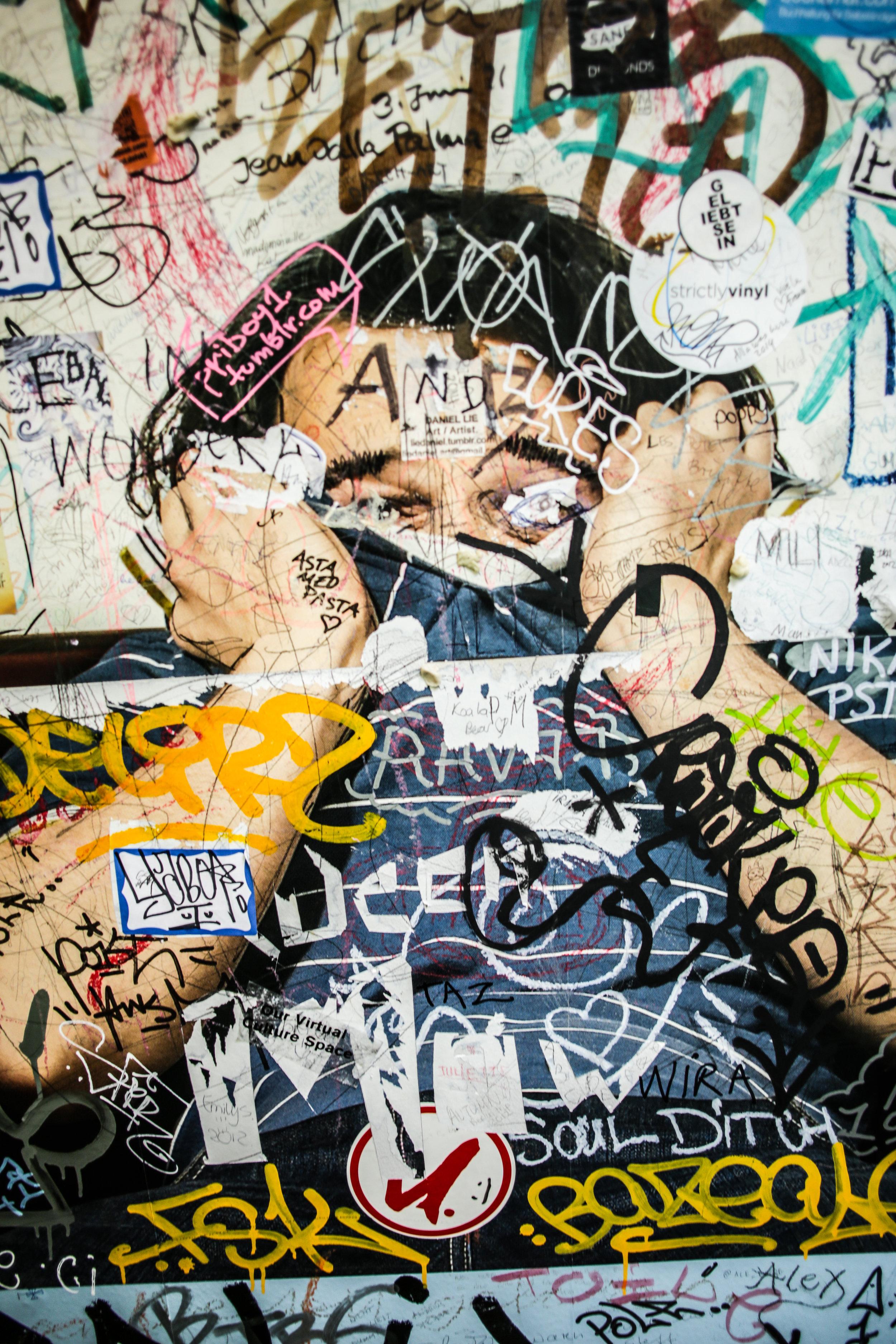 Photo of graffiti, June 2015, Berlin
