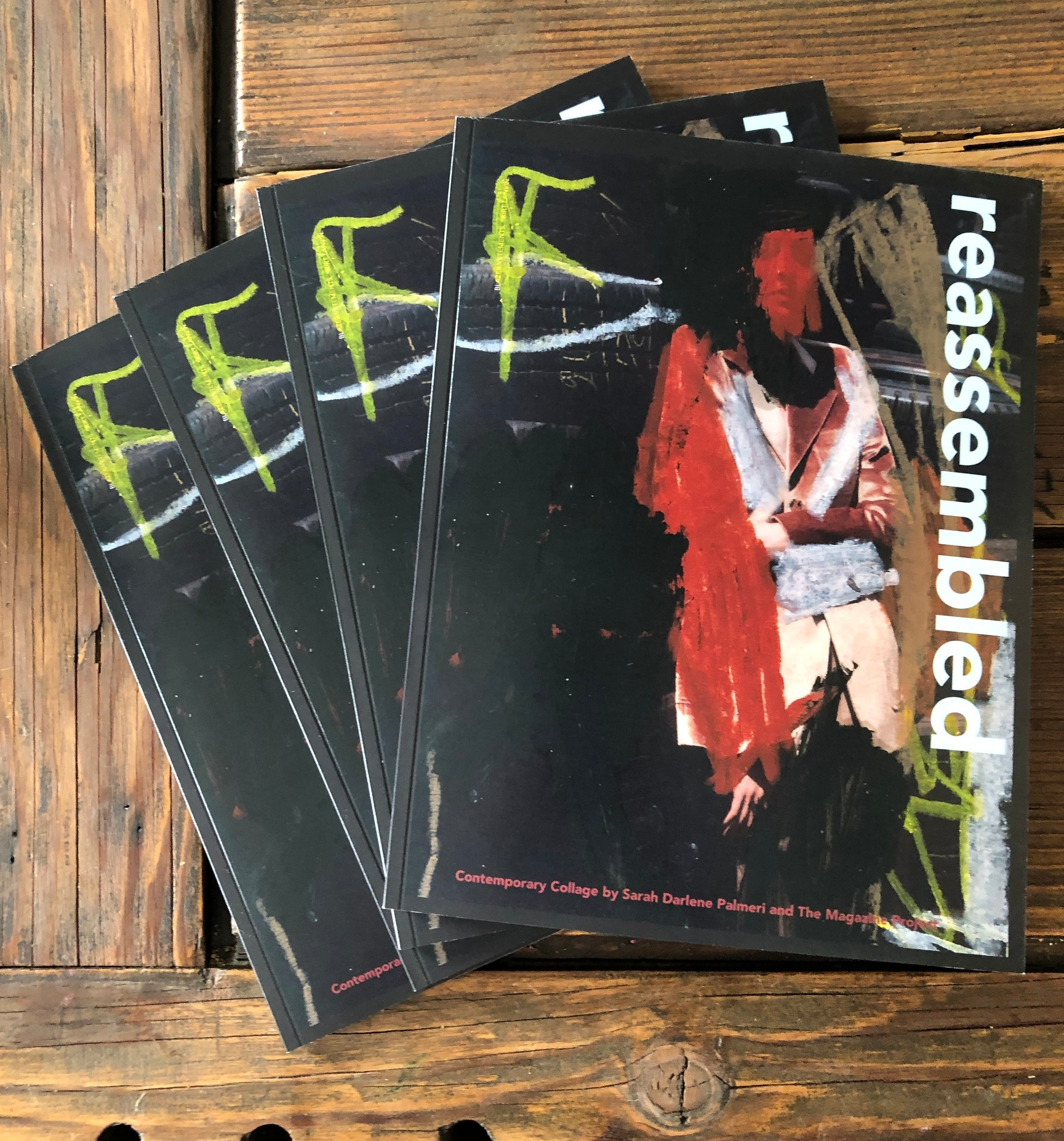 Reassembled Now Available - A portion of sales will be donated to Denver's Family Tree Roots of Courage shelter, a confidential, residential facility for survivors of domestic violence and those with children.Learn more about The Magazine Project here.