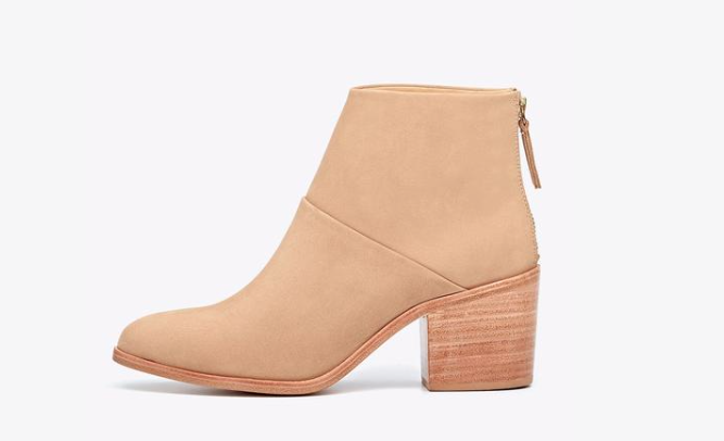 Nisolo Dari Boot in Wheat- 4 Semi-Affordable Ethical Fashion Brands Best Boots