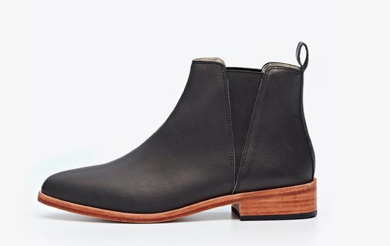 Nisolo Chelsea Boot Black Brown - Clothed in Abundance Semi-Affordable Ethical Fashion Best Boots