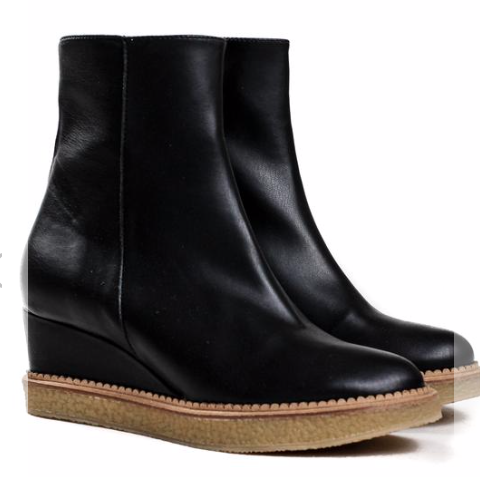 Bhava NY Sasha Platform Ankle Boots Clothed In Abundance Semi-Affordable Ethical Fashion Brands Best Boots