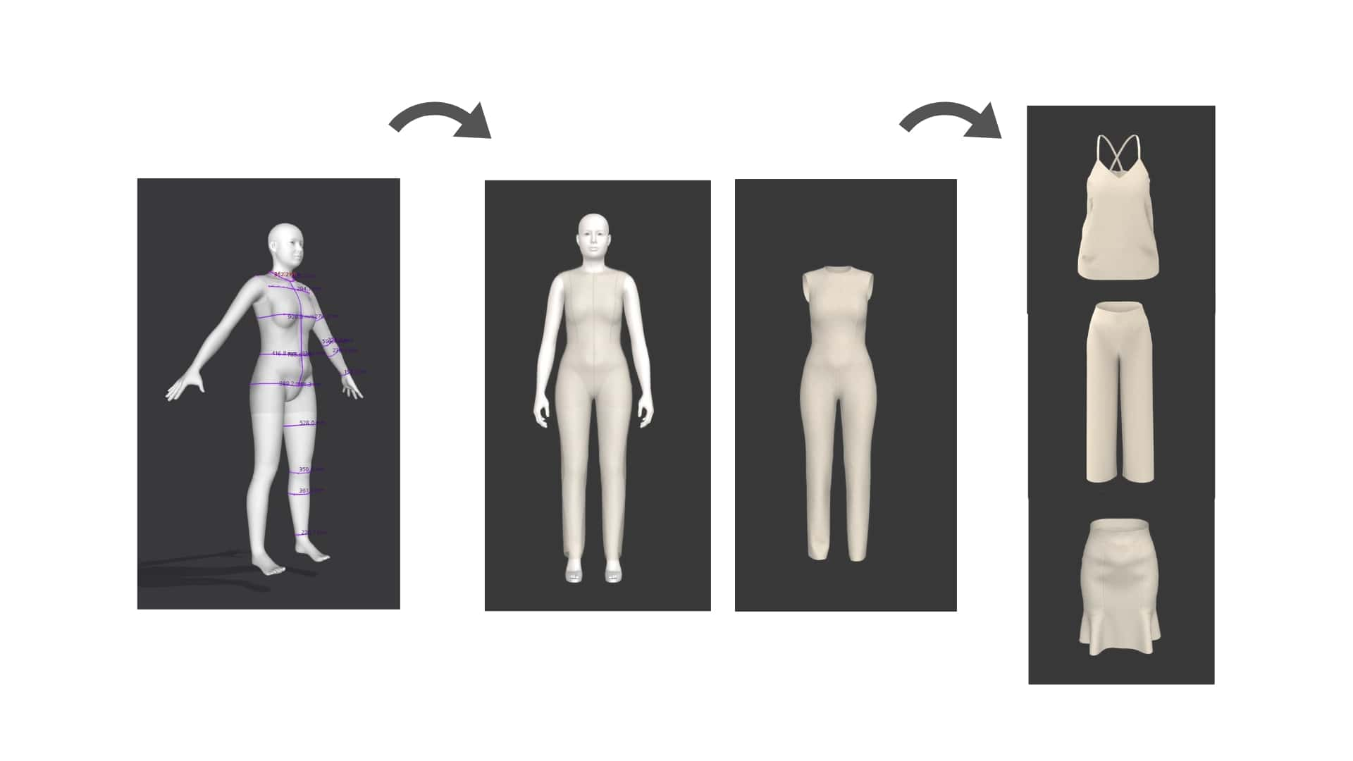 Week 1: What is digital couture - Introduction and terminologyParametric approach to garment designGrading from body measurementsWhat parametric design can and cannot doApplications beyond fashionWorkshop: Working with interactive custom basic blocks and grading from body measurements