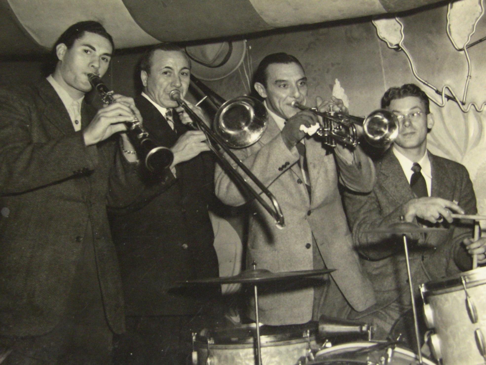 Michael Costa, Clarinet (far left)