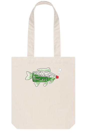 Reduce Your Use organic tote