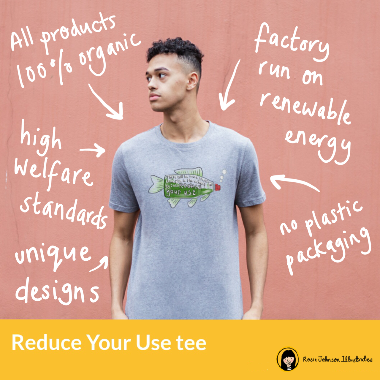 Reduce Your Use Organic tee