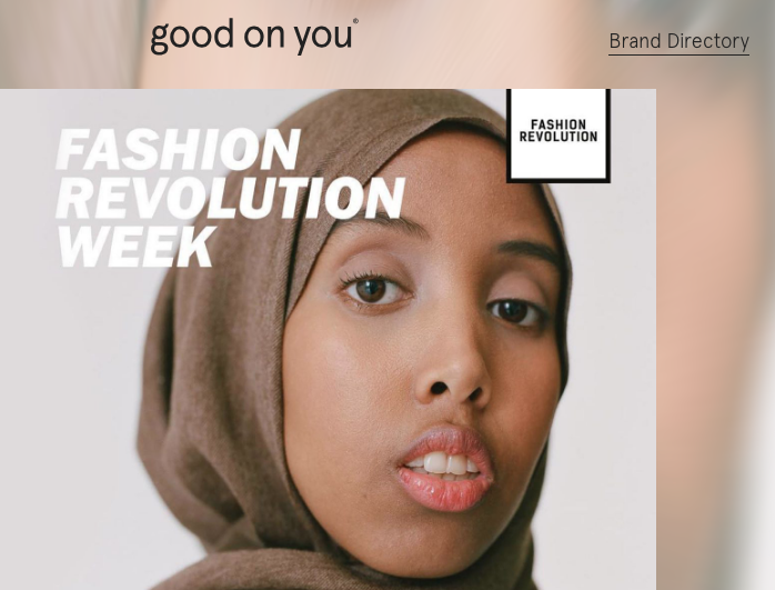 Good On You - This is an excellent brand directory, also available as a free app, which rates the ethical practices of many fashion brands on three main areas:Labour, Animal Welfare and Environmental Impact