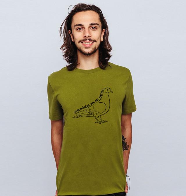 £19 Organic Pigeonhole tee
