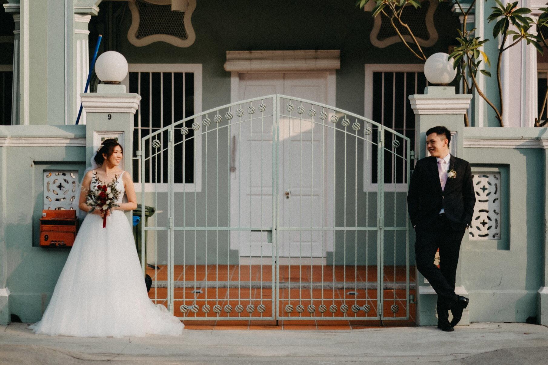 Shee Ting + Vincent - Katong Presbytarian + Mandarin Oriental