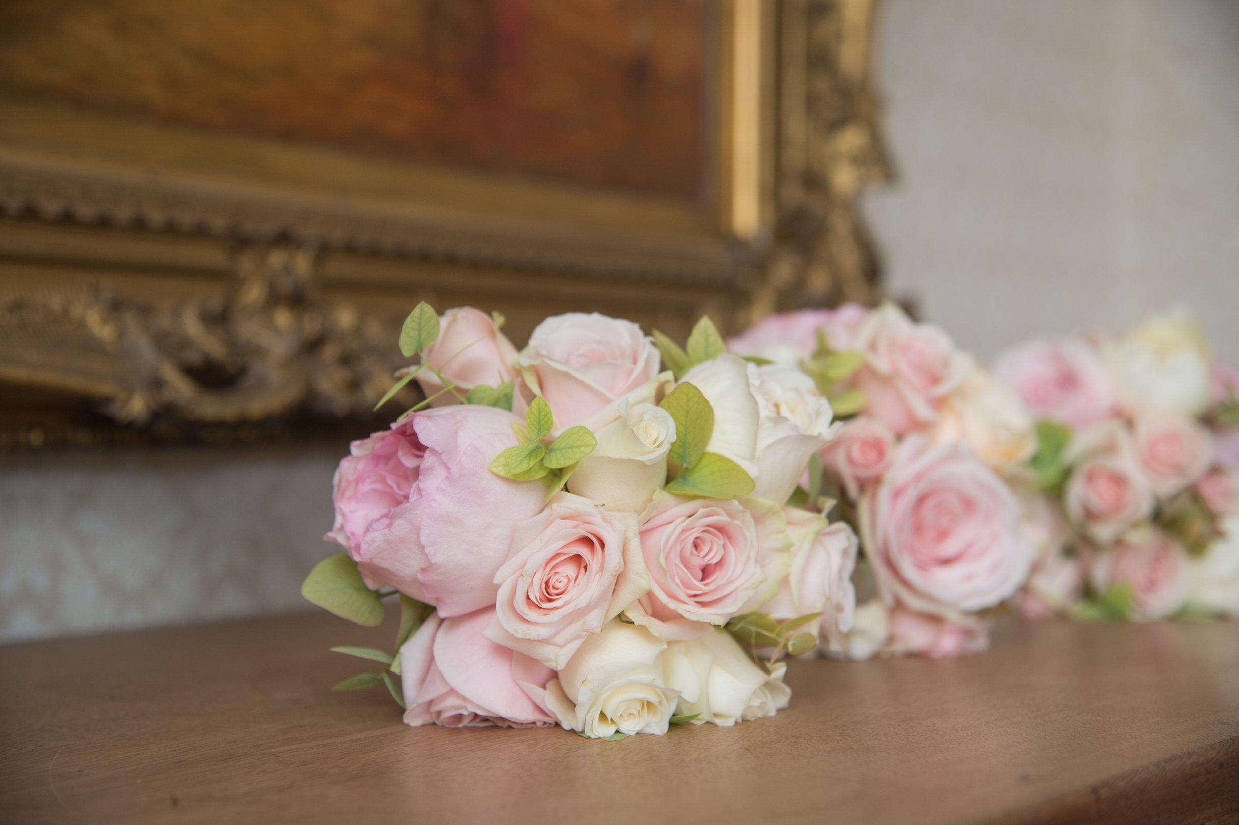 Wedding bouquets at Highbury Hall Birmingham