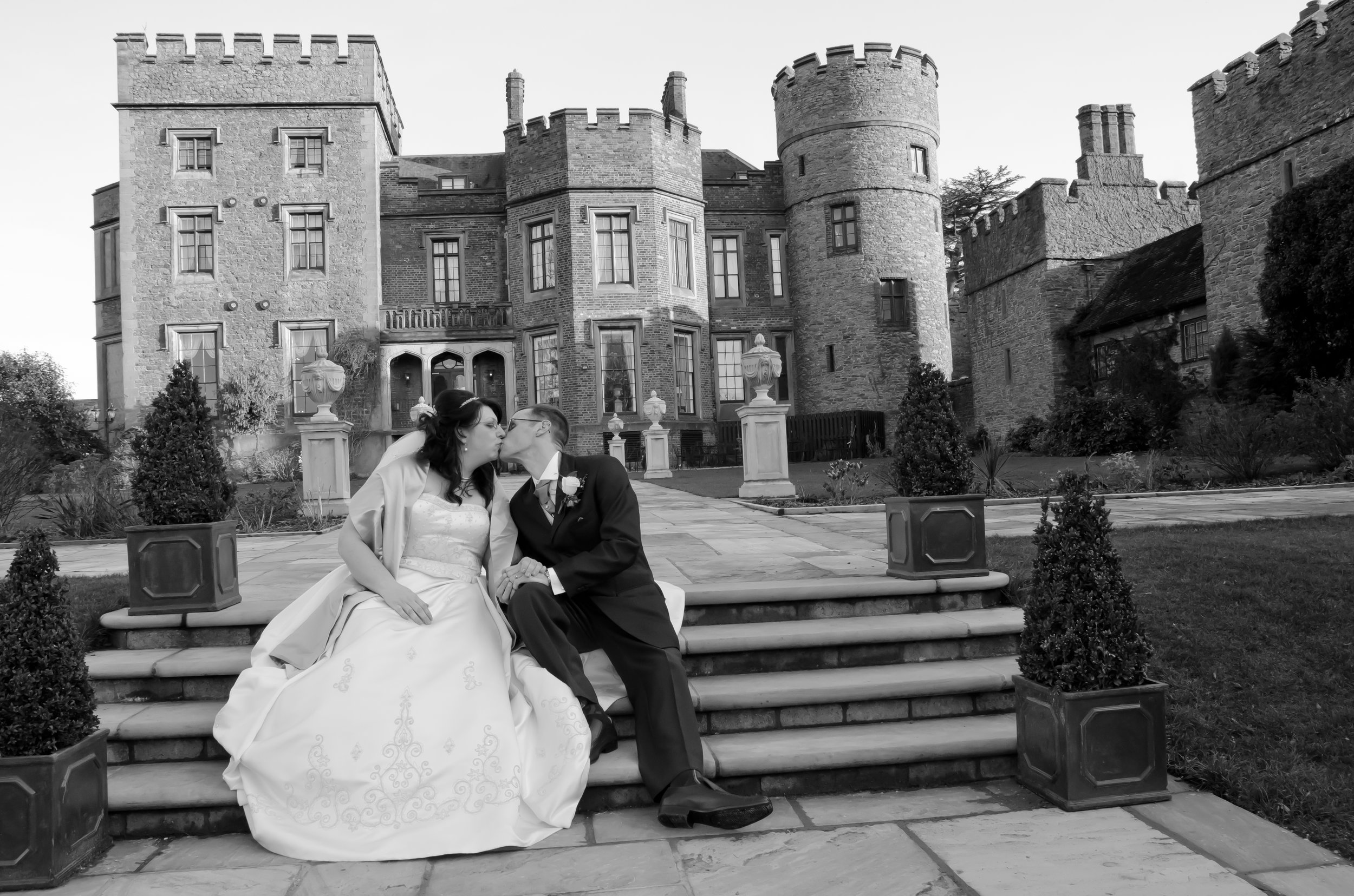 Rowton Castle Hotel Wedding Shrewsbury