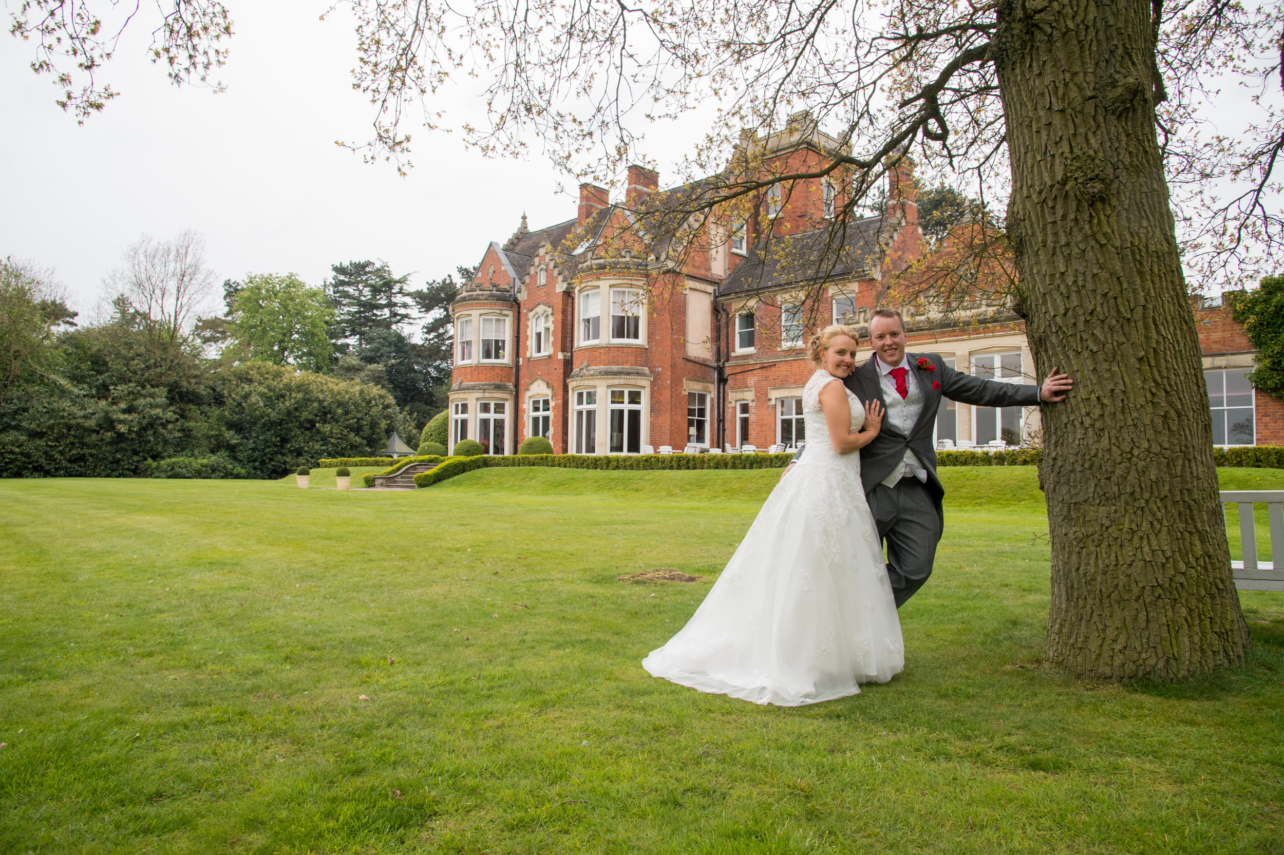 Bride and Groom Pendrell Hall Wolverhampton
