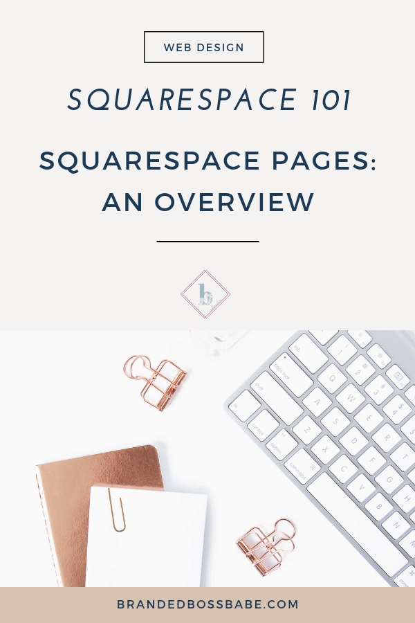 Squarespace makes it easy to create pages of your website. In this part of the series, I'll give you a brief overview of different pages that are available on the Squarespace platform.