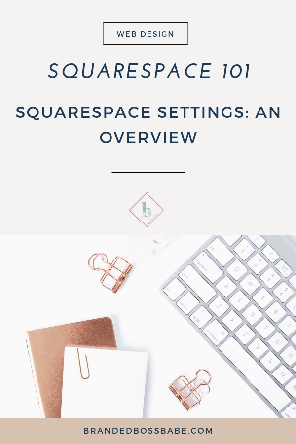 Now that w'e've covered how to get started and the pages options, it's time to take a look at other settings Squarespace has to offer. In this part of the series, I'll give you a brief overview of different settings that are available on the Squarespace platform.
