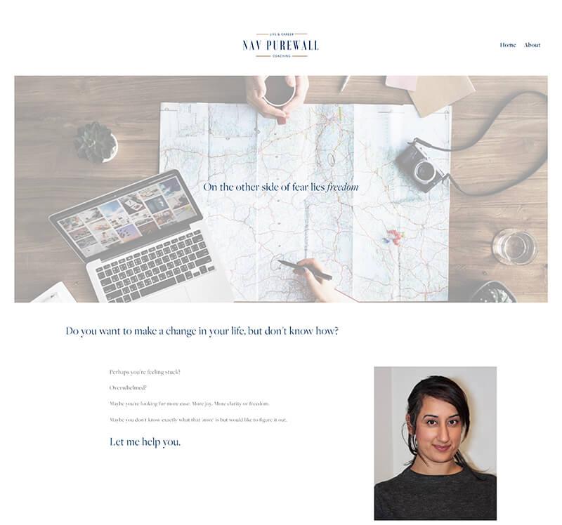 Nav Purewall - Website URL: https://www.navpurewall.com/Designed by: Awakened Creator DesignTemplate family used: Brine