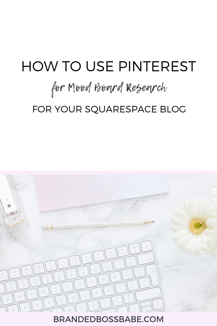 By now, you probably know how great  Pinterest  is. I mean, this platform can drive tons of traffic to your blog and website, it can be used to collect your favorite recipes, it can be used to create an inspiration board for your home…  But, that's not what I am going to talk about today. Today, I want to show you how you can easily use Pinterest to create a mood board for your brand and website.