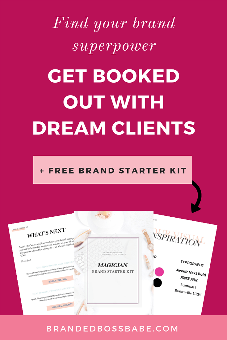 Brand Personality Quiz | Branded Boss Babe - Learn how to select the perfect colors, fonts, patterns, and more so you can finally attract your ideal clients with my free Brand Personality Quiz. Includes a personalized Brand Starter Kit! #branding #smallbusinesstips #growyourbusiness #brandedbossbabe