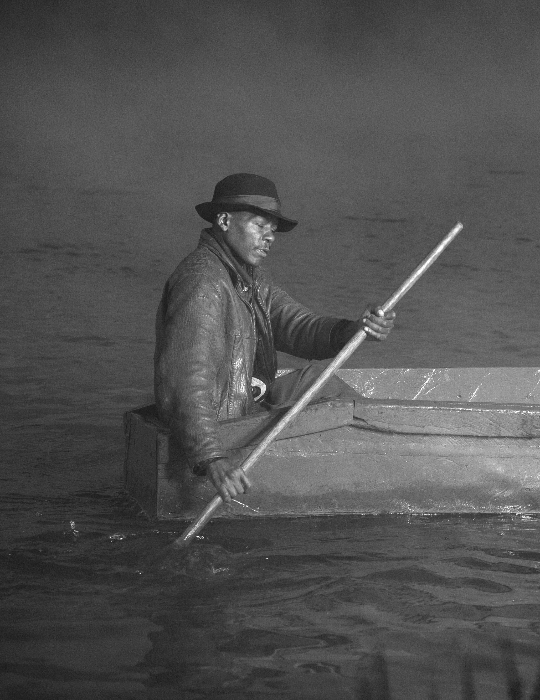 Mr. Kariuki, local fisherman