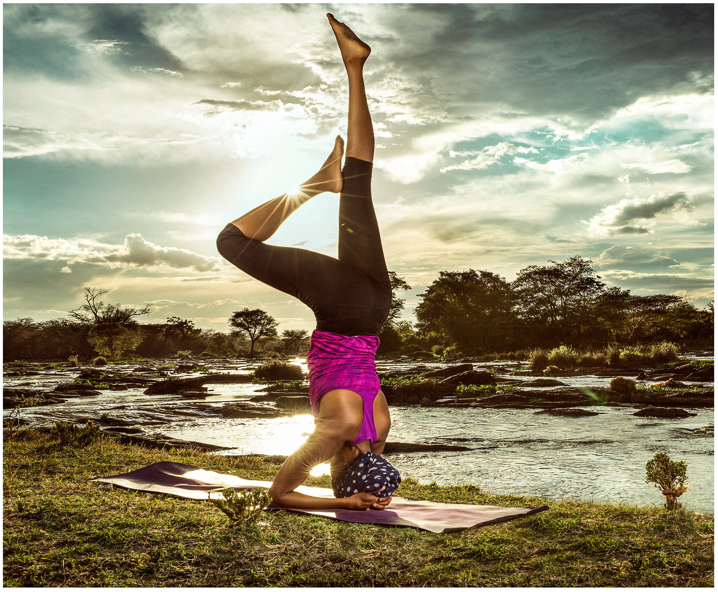 Yoga With Kui Wanyoike
