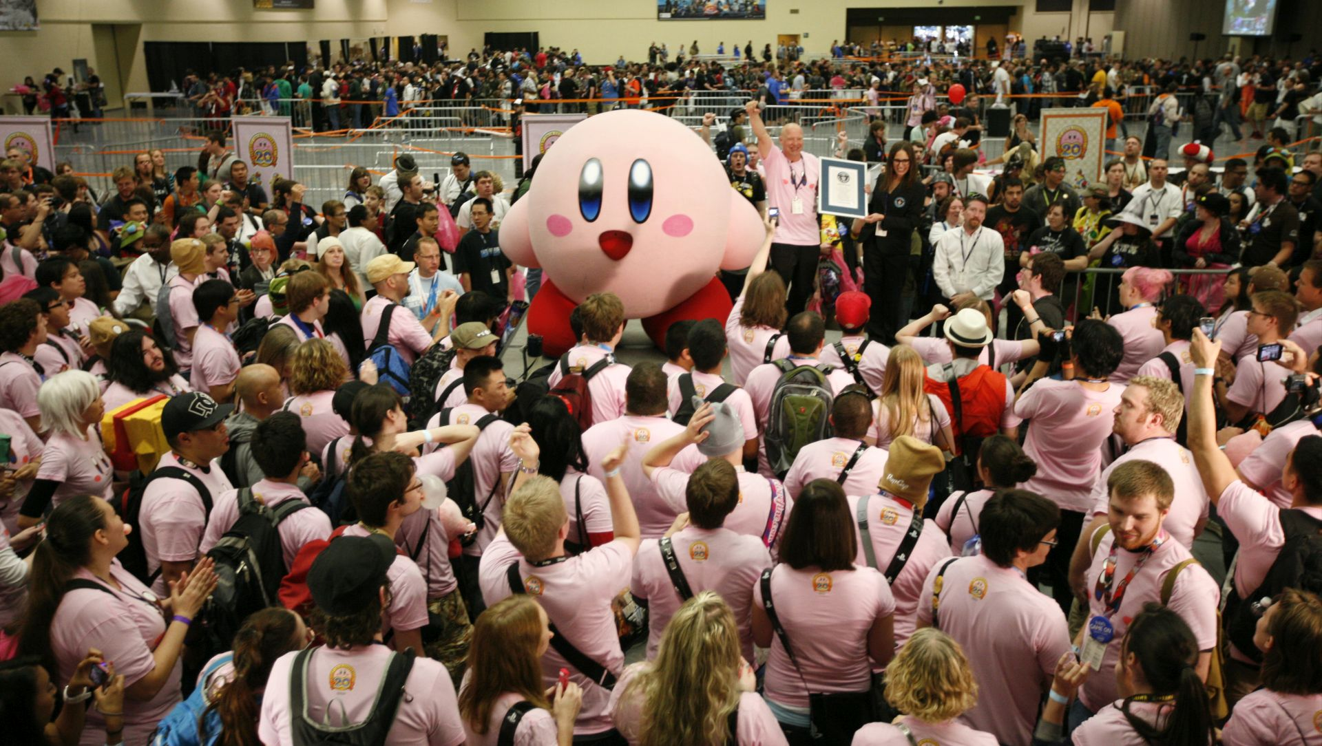 Break the World Record with Kirby