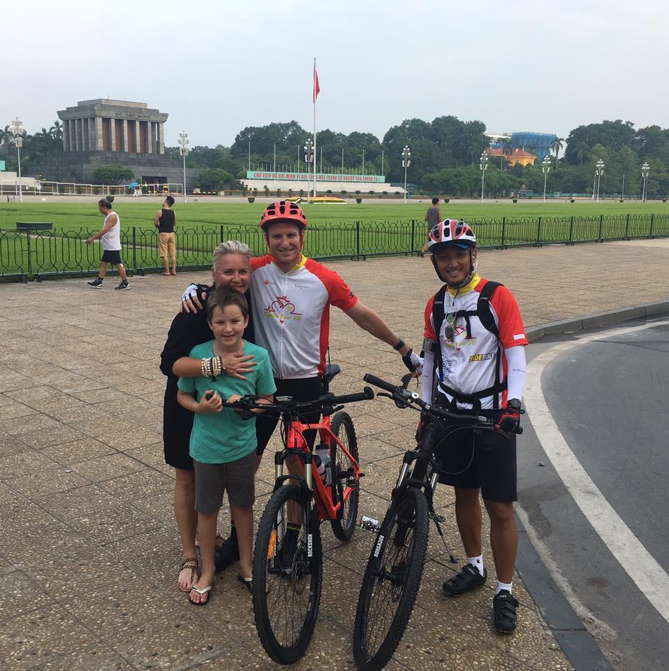 Our start in Hanoi