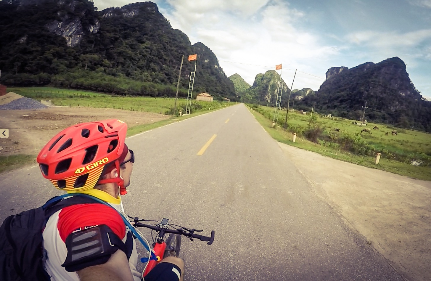 Beautiful limestone mountains and caves of Phong Nga